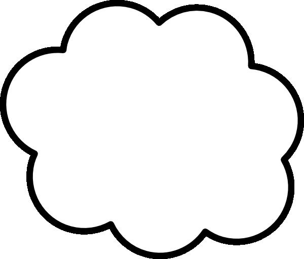 gray cloud clip art at clkercom vector clip art online