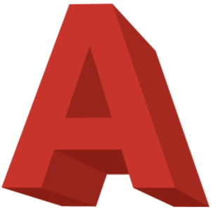 Letter A Icon Image