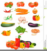 Free Fruits And Vegetables Clipart Image