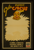Gala Puppet Circus Clowns, Cowboys, Acrobats, Animals, And Novelty Acts. Image