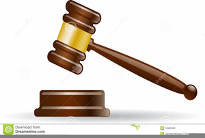 Clipart Court Gavel Image