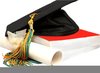 Cap And Gown Clipart For Graduation Image