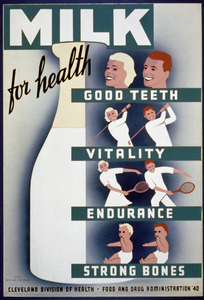 Milk - For Health, Good Teeth, Vitality, Endurance, Strong Bones Image