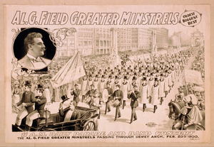 Al. G. Field Greater Minstrels Oldest, Biggest, Best. Image