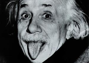 Albert Einstein Tongue Image