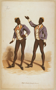 Negro Double Song & Dance Image