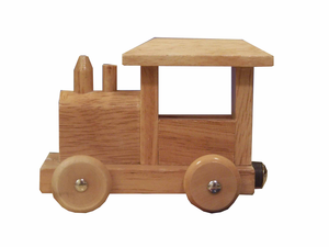 Wooden Train Image