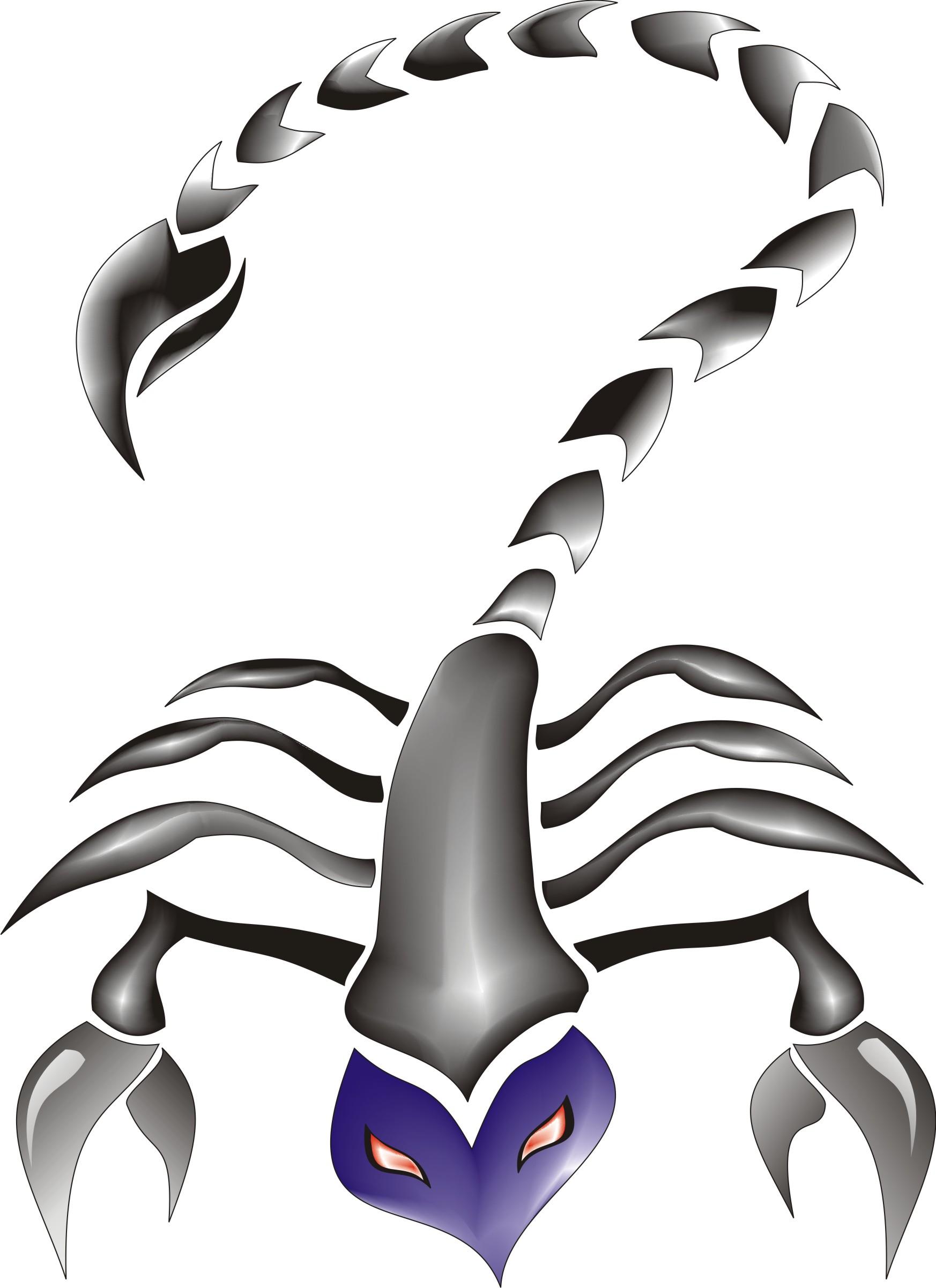 how to draw a cartoon scorpion