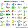Standard Hotel Icons Image
