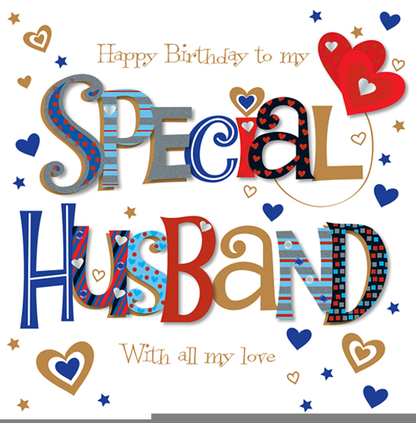 happy birthday to my husband clipart  free images at