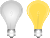 Lightbulb On Off Clip Art