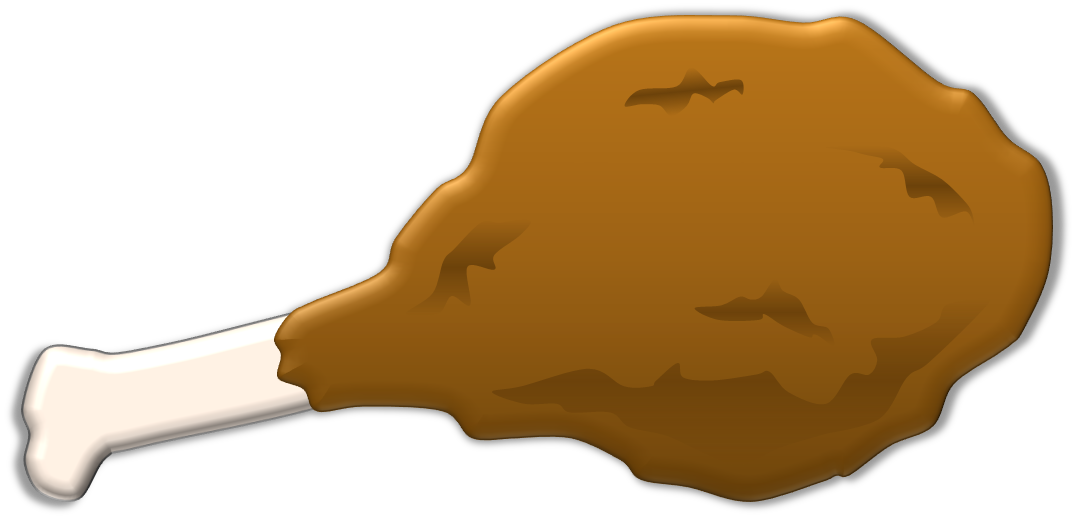 Clipart Chicken Drumstick