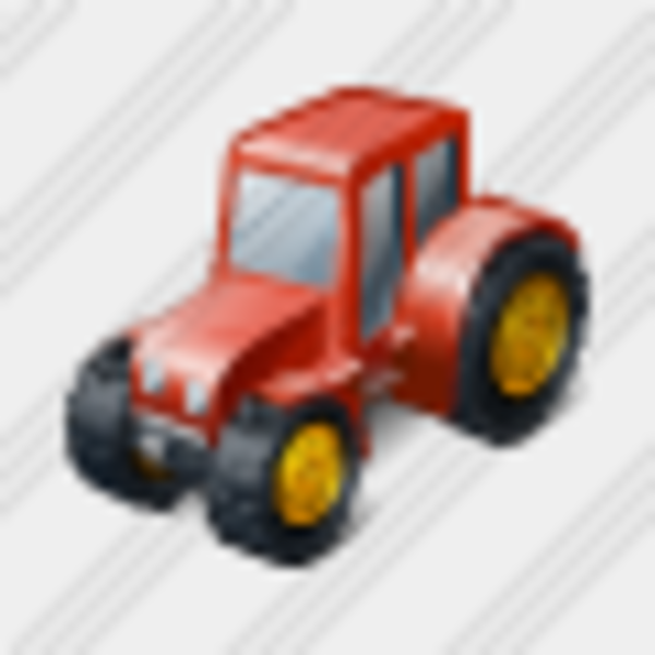 Tractor Steering Wheel Clip Art : Icon wheeled tractor free images at clker vector