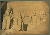 [colossal Sculptures Of Ramses Ii At Entrance To The Great Temple At Abū Sunbul, Egypt]  / A. Beato. Image