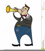 Clipart Man Playing Trumpet Image