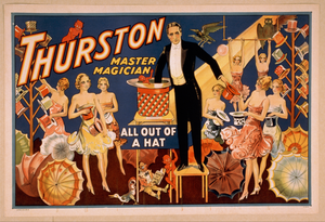 Thurston, Master Magician All Out Of A Hat. Image
