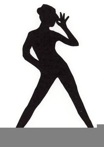 Baby Girl Doing The Floss Dance Cartoon Clipart Vector - FriendlyStock