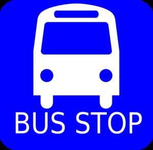 blue bus stop clip art at clker com vector clip art online rh clker com bus stop clipart free bus stop clipart