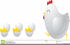 Cartoon Baby Chicks Clipart Image