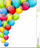 Clipart Of Baloons Image