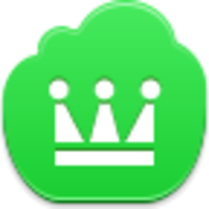 Free Green Cloud Crown Image