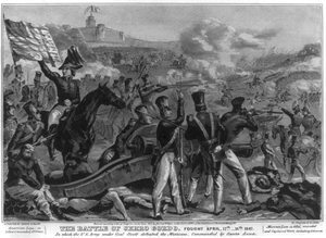 The Battle Of Cerro Gordo Image