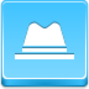 Free Blue Button Icons Hat Image