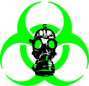 Biohazard And Mask Cut Cut Image