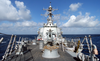 The Guided Missile Destroyer Uss Donald Cook (ddg 75). Image