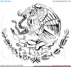 Clipart Flag Coloring Page Image