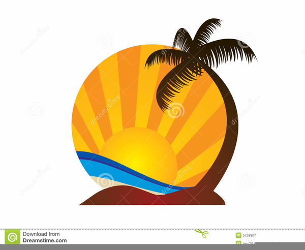 Abstract Design Of A Beach Volleyball Player Vector Image: Beach Volleyball Clipart Free