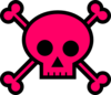 Skull With Crossbones Clip Art