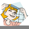 Hair Comb Clipart Image