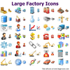Large Factory Icons Image