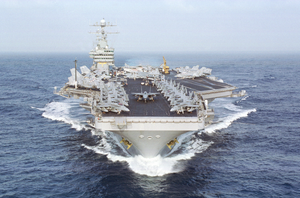 Uss Dwight D. Eisenhower (cvn 69) Underway. Image
