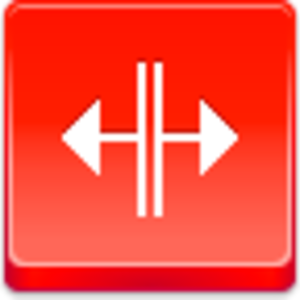 Free Red Button Icons Cursor V Split Image