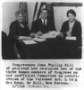 [congress, U.s. - Women Members: Mrs. Kahn, Mrs. Norton And John Phillip Hill - Unofficial Committee On Modification Of Volstead Act] Image