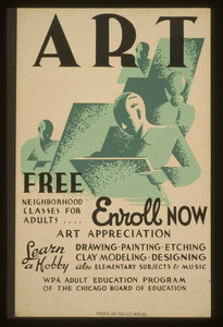 Art - Free Neighborhood Classes For Adults ... Enroll Now Image
