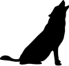 Silhouette Animal Clipart Image