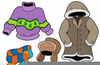 Free Clipart Clothes Kids Image