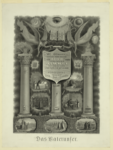 Das Vaternuser  / Engraved On Steel By Watts, Steel-plate Engraver. Image