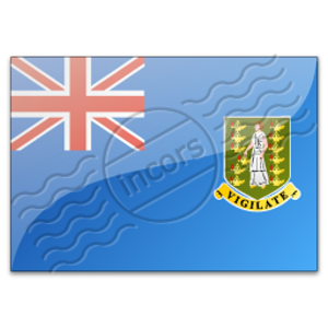 Flag British Virgin Islands Image