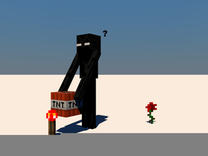 Funny Enderman Pictures Image