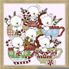 Christmas Tea Party Clipart Image