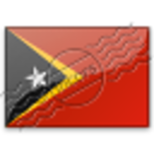 Flag East Timor 2 Image