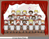 Free Christmas Choir Clipart Image