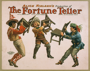 Alice Nielson S Production Of The Fortune Teller Image