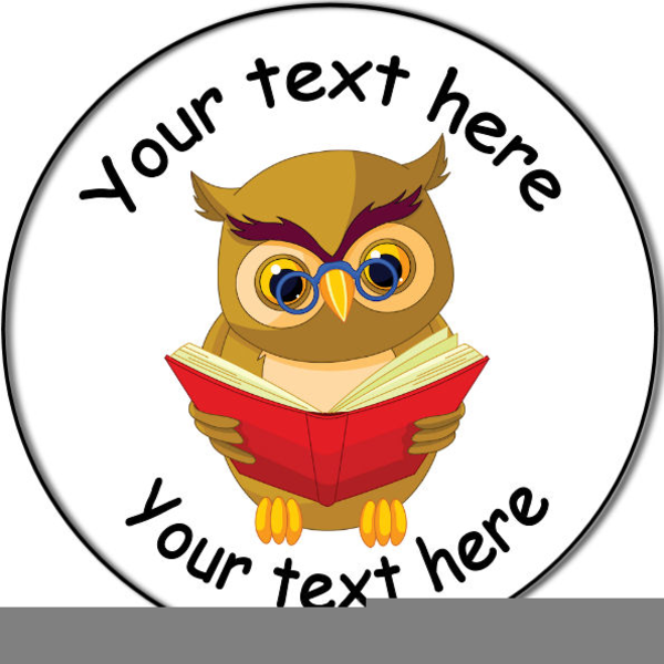 Owl Reading A Book Clipart   Free Images at Clker.com ...