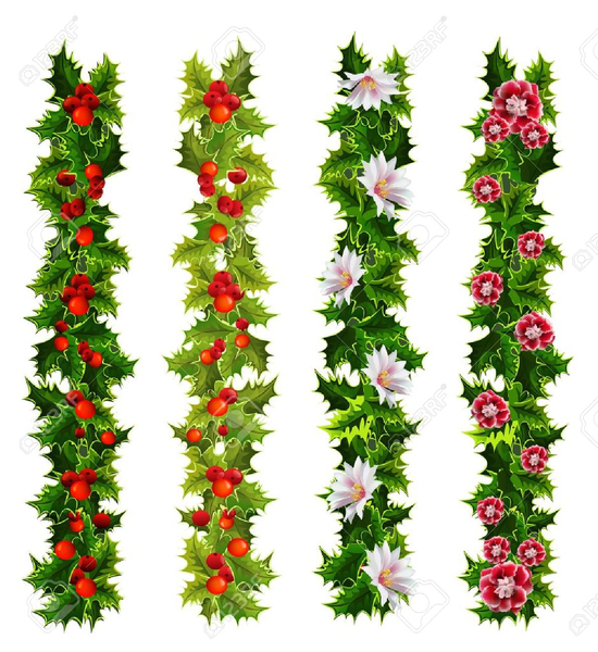 Christmas Clipart Holly.Free Christmas Clipart Holly Free Images At Clker Com