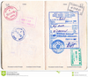Canadian Passport Clipart Image